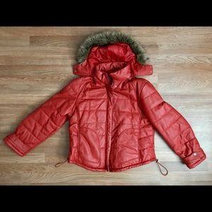 Wilsons Leather Orange Coat